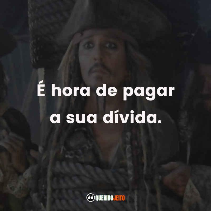 Piratas do Caribe A Vingança de Salazar Frases tumblr