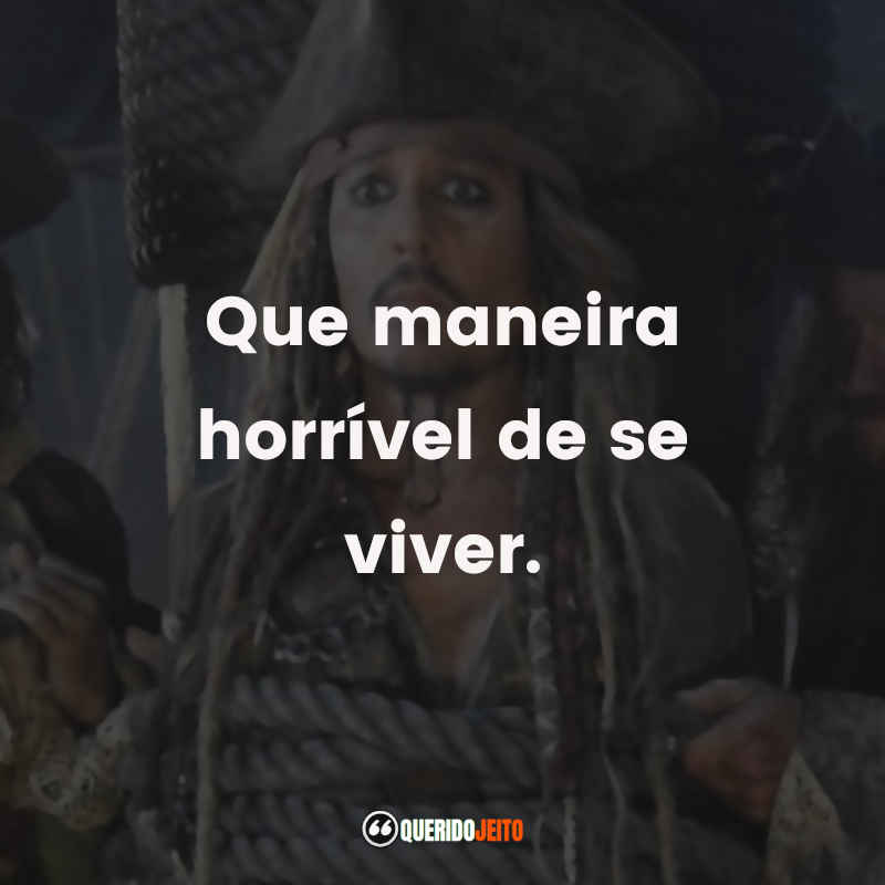 Citações Piratas do Caribe A Vingança de Salazar Frases