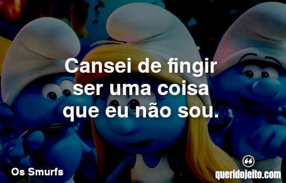 Frases Os Smurfs e a Vila Perdida facebook
