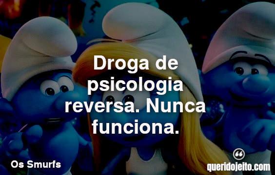 Frases dos Smurfs 3
