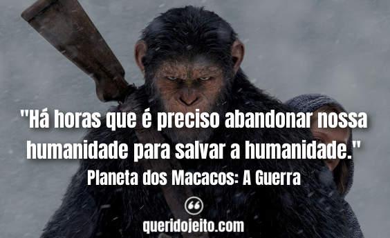 Frases Planeta dos Macacos: A Guerra facebook, Frases Bad Ape,