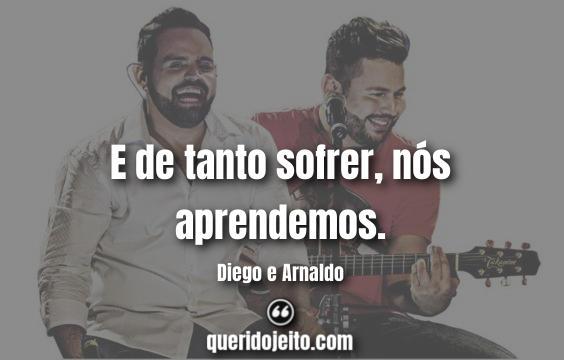 Frases Diego e Arnaldo, Trechos de Músicas.