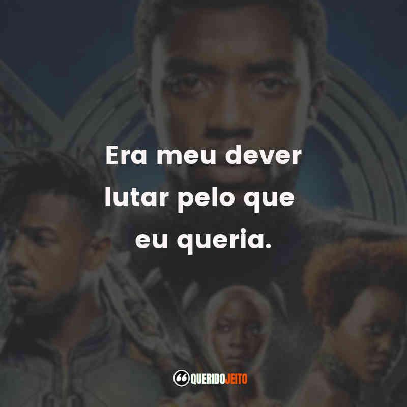 Frases do Pantera Negra