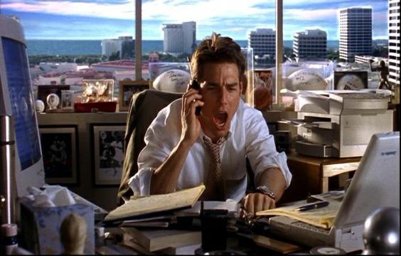Filme Jerry Maguire A Grande Virada - Blog