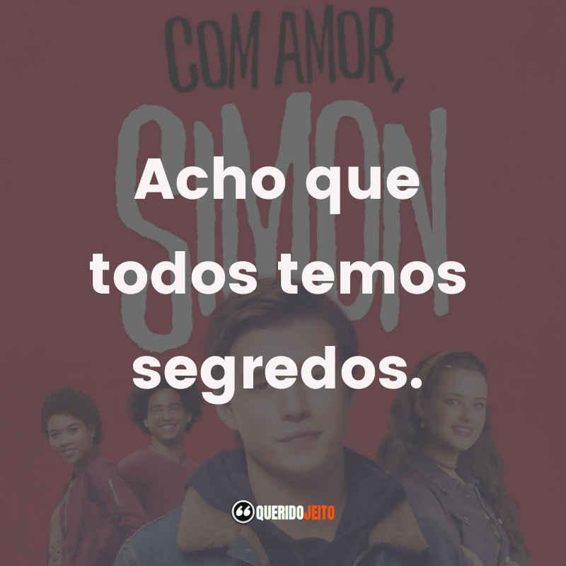 Frases Com Amor, Simon Filme