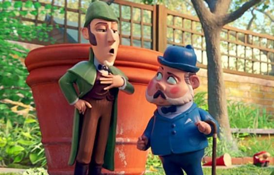 """""""Emoção é inimiga da lógica."""" Frases Gnomeu e Julieta: O Mistério do Jardim, frases Irene, frases Benny, Frases Gnomeu e Julieta facebook,"""