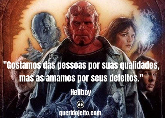 Hellboy Frases Tumblr, Frases Abe Sapien O Anjo da Morte.