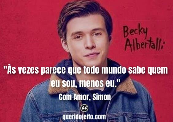 Frases Com Amor, Simon, Livro Com Amor, Simon