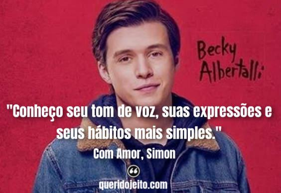 Frases Com Amor, Simon tumblr, Frases Com Amor, Simon livro, Livro Com Amor, Simon