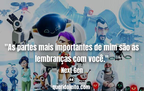 """""""As partes mais importantes de mim são as lembranças com você."""" Frases Next Gen, Frases Next Gen Legendas, Frases Mai,"""