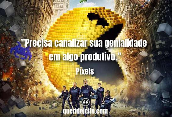 Frases Pixels facebook, Frases Sam Brenner, Frases Adam Sandler,