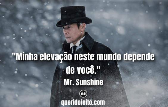 Frases Mr. Sunshine - Um Raio de Sol tumblr, Status Mr. Sunshine, Frases Go Ae-Shin, Frases Lee Wan-Ik,
