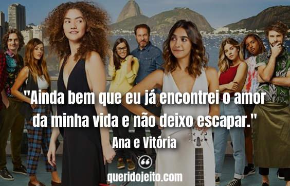 Frases da Ana e Vitória