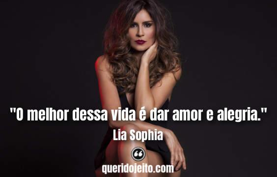 Frases Lia Sophia tumblr, Status Lia Sophia,