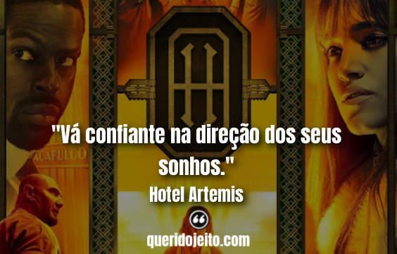 Frases Hotel Artemis facebook, Mensagens Hotel Artemis, Frases Waikiki, Frases Everest, Frases de Ficção,
