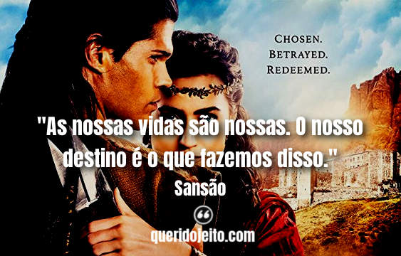 Frases Sansão tumblr, Legendas Sansão, Frases Dalila, Frases Taren, Frases Bíblicas,