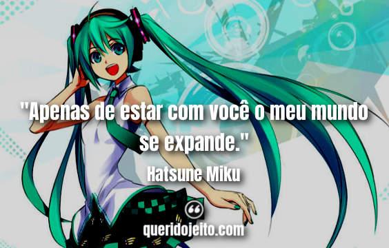 Frases Hatsune Miku tumblr, Status Hatsune Miku