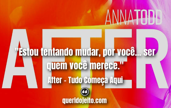 Frases After - Tudo Começa Aqui twitter, One Direction Frases After Livro,