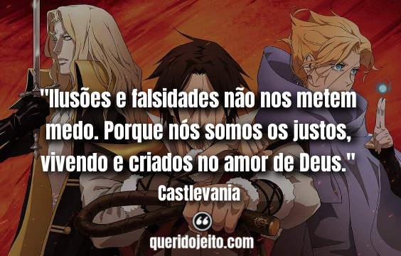 Frases Dracula Castlevania,