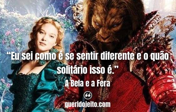 Frases A Bela e a Fera 2014, Frases A Fera, Frases La Belle et la Bête, Filme A Bela e a Fera,