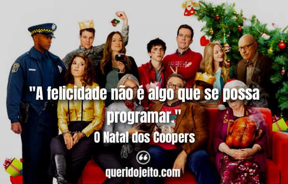 Frases O Natal dos Coopers, Citações Filme O Natal dos Coopers, Frases Sam,
