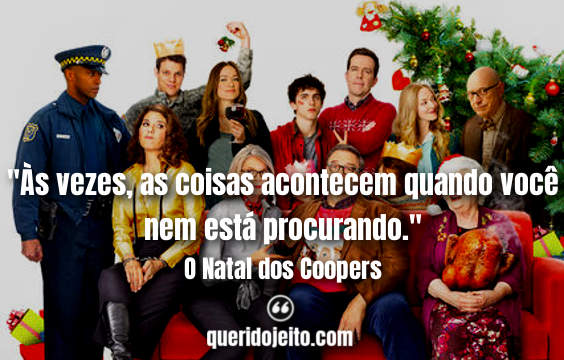 Frases O Natal dos Coopers twitter, Pensamentos O Natal dos Coopers, Frases Emma,