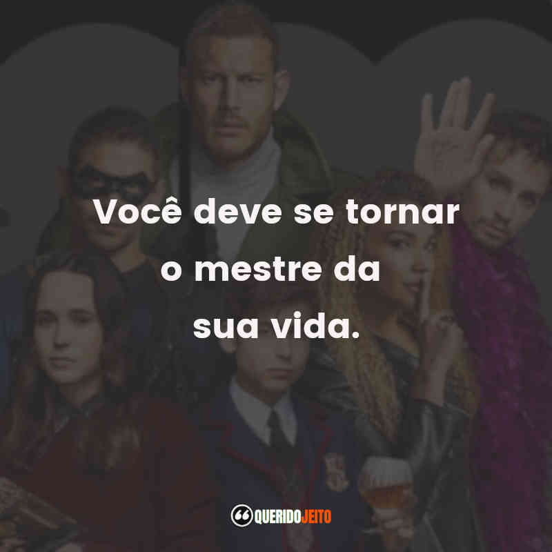 Frases do Luther Hargreeves