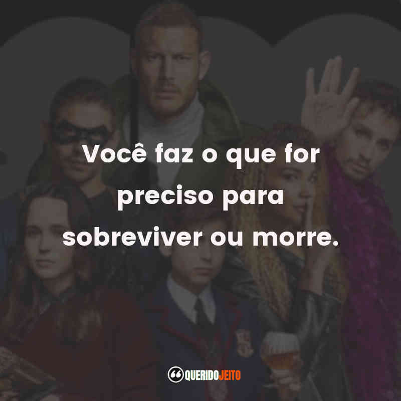 Frases do Klaus Hargreeves