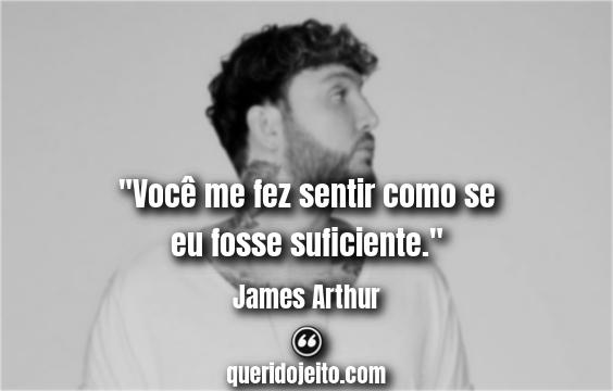 Trechos James Arthur Impossible Tradução.