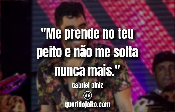 Frases de Gabriel Diniz.