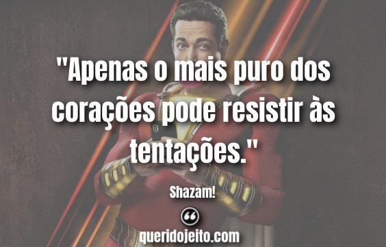 Frases Shazam!.