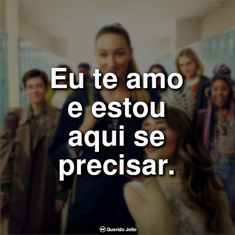 Frases Crush à Altura: Eu te amo e estou.