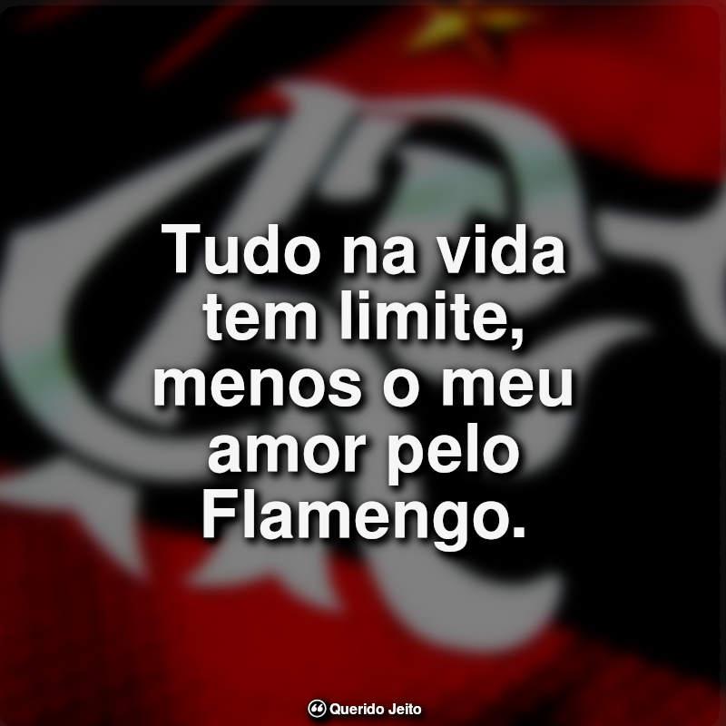 Frases do Flamengo: Tudo na vida tem limite.