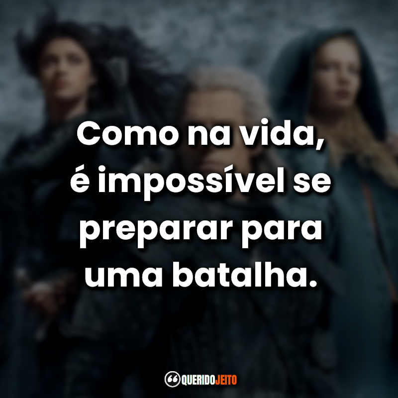 Frases de The Witcher Netflix.