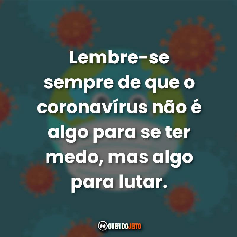 Frases Coronavírus.