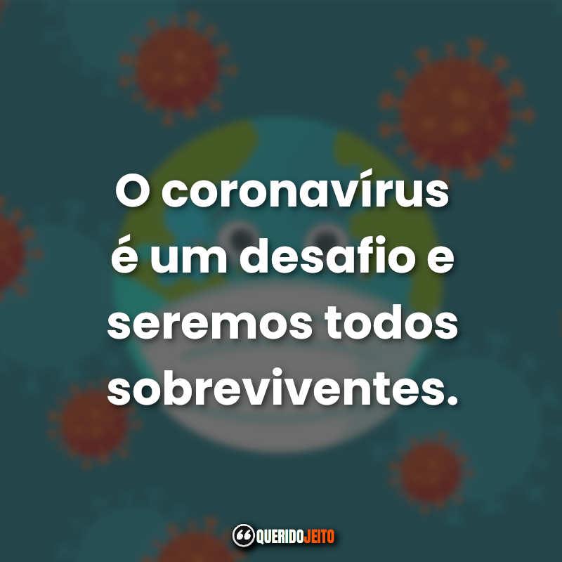 Coronavírus Frases.