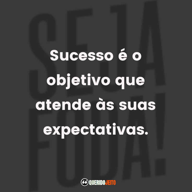 Frases Seja Foda! tumblr
