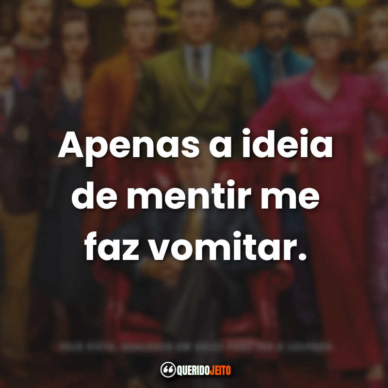 Frases Entre Facas e Segredos.