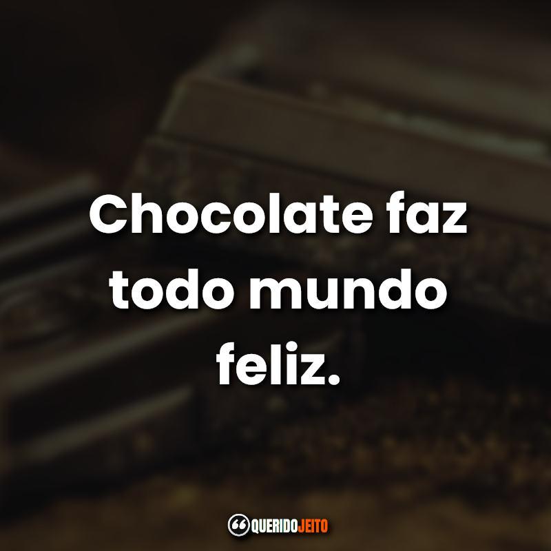 Dia do Chocolate Frases.