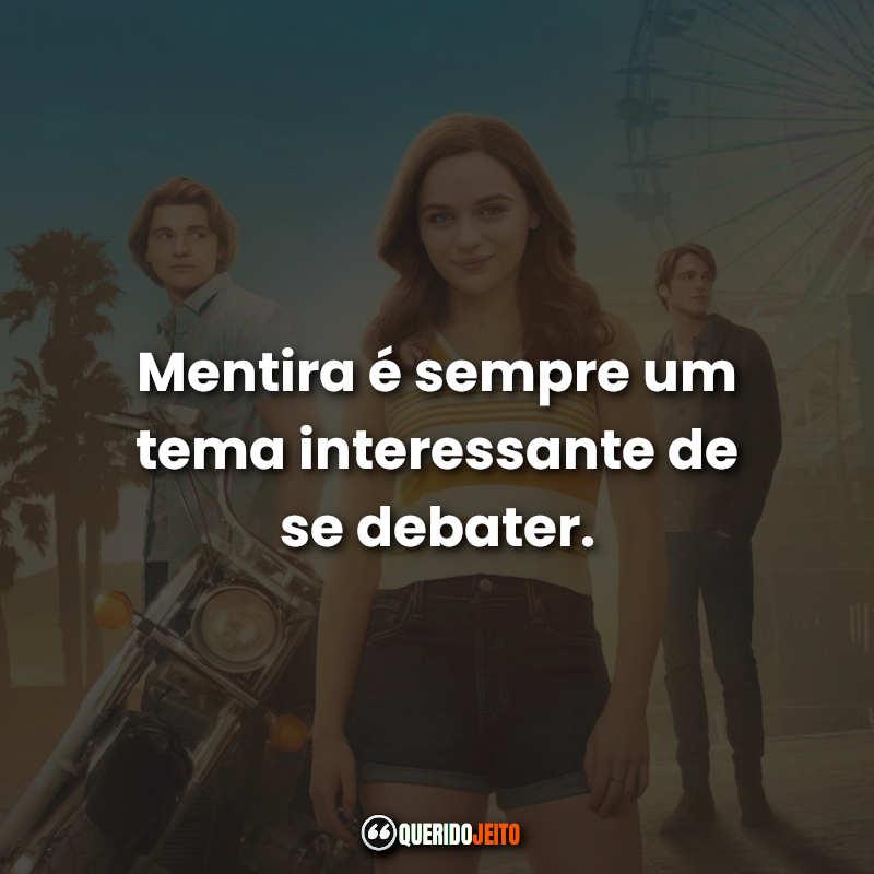 Filme A Barraca do Beijo 2 Frases.