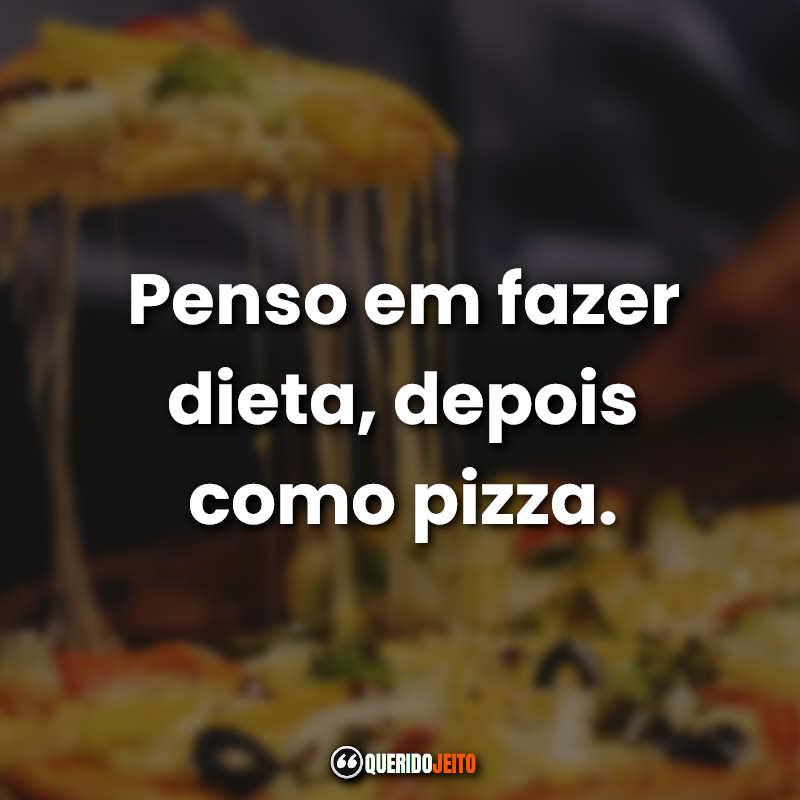 Mensagens Pizzas.