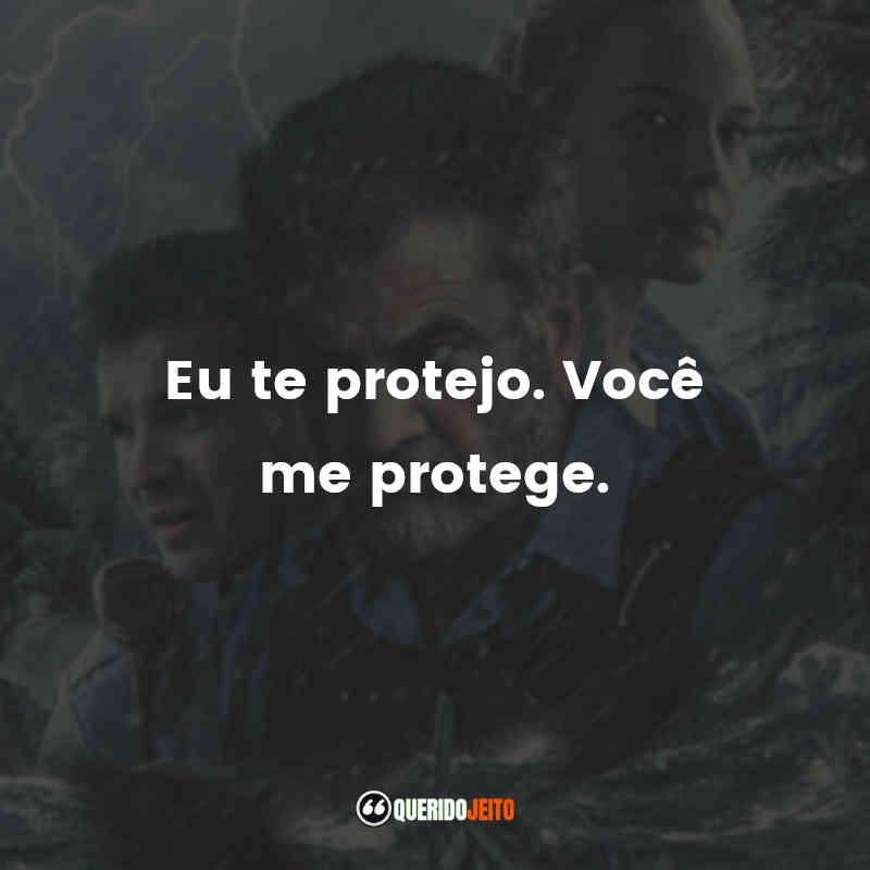 """Eu te protejo. Você me protege."""